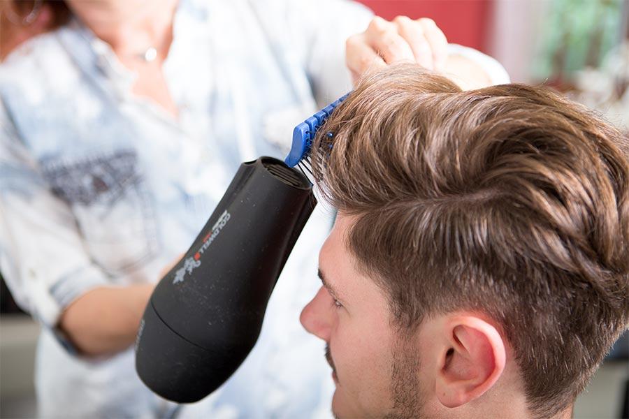 Styling von Haaren